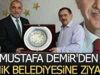 Mustafa Demir'den Canik Belediyesine Ziyaret