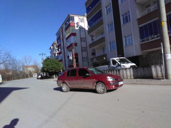 Bafra'da Otomobil Bisiklete Çarptı: 1 Yaralı