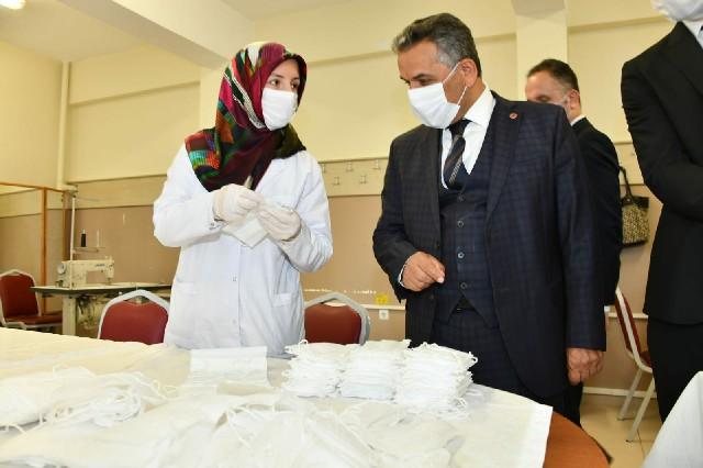 Samsun Valisi Osman Kaymak Bafra'da Bir Dizi Ziyaretlerde Bulundu