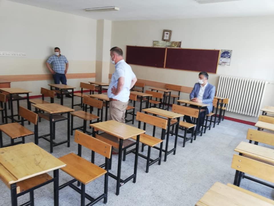 Bafra'daki Okullar LGS Sınavına Hazır