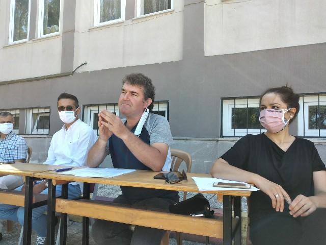 Koronavirüs Tedbirleriyle Öğretmenlerin Seminer Çalışması Başladı