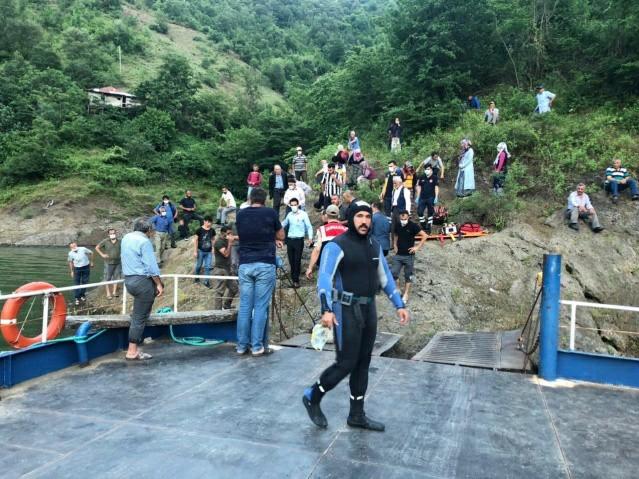 Samsun'da o genci baraj gölü yuttu