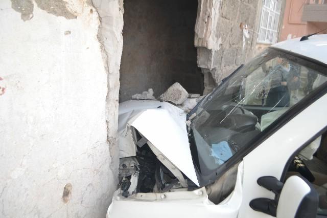 Bafra'da Kaza:1 Yaralı