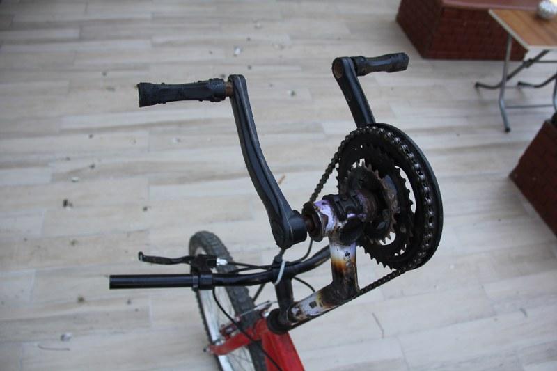 Bisikletle yokuş çıkmanın formülünü buldu