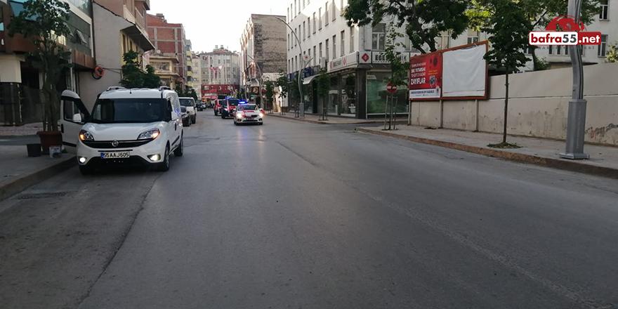 Bafra'da 19 Mayıs Konvoyu