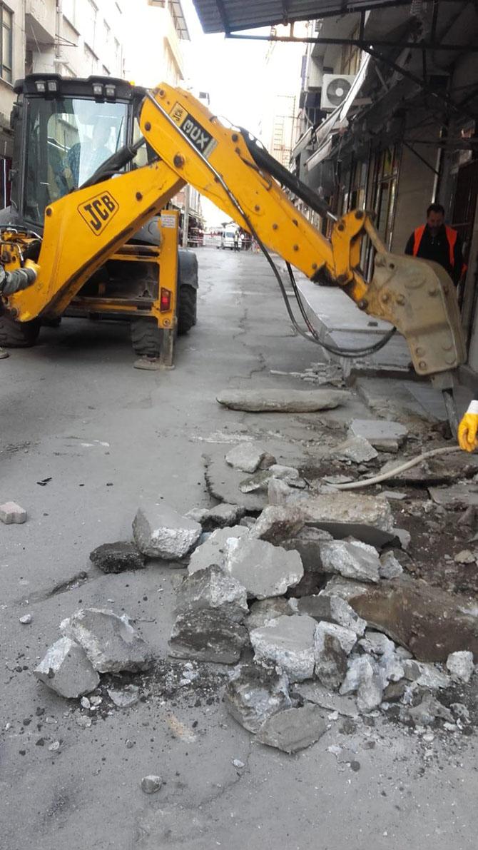 hamit kılıç Çordanoğlu sokakta-Bafra Haber