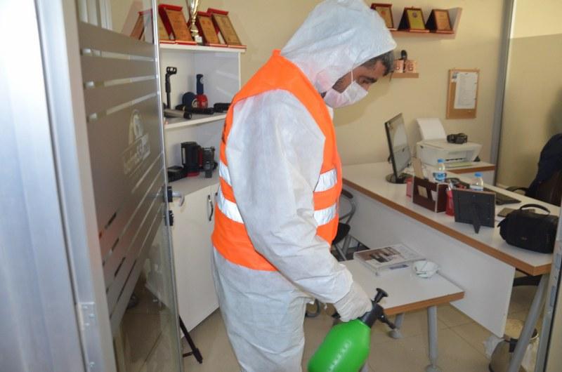 Bafra Belediyesi'nin Korona Virüsü Mücadelesi Devam Ediyor