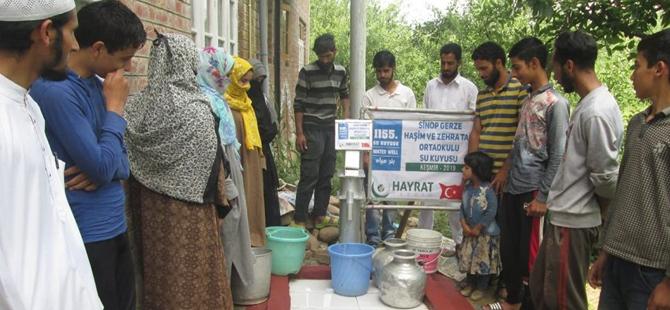 Haşim ve Zehra Tarı Ortaokulundan Pakistan'a Ahde Vefa