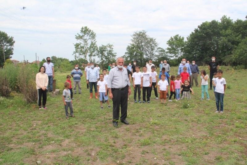 Çocuklar Mahallelerine Park İstiyorlar