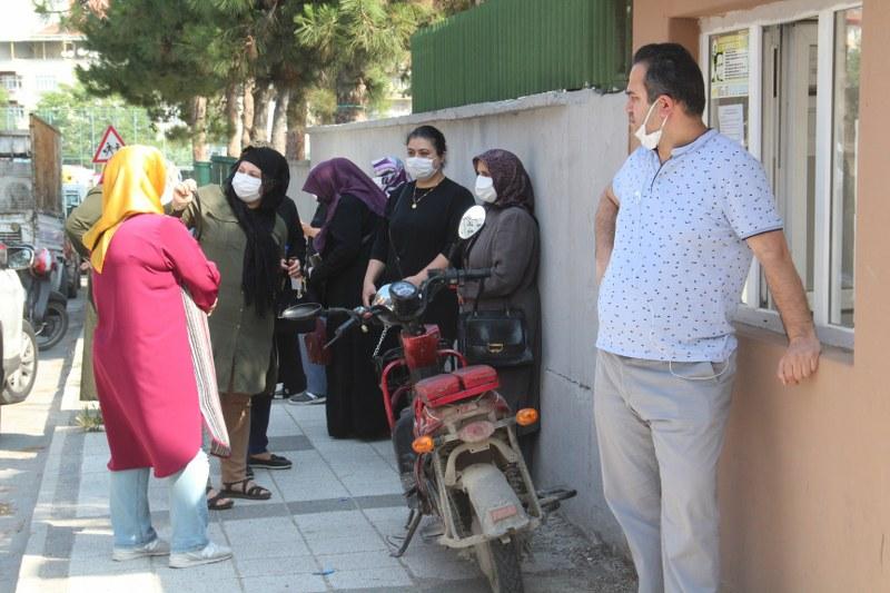 Bafra'da LGS heyecanı başladı