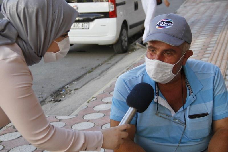 Bafralılara sorduk pandemi sürecinde çocuğunuzu okula gönderir misiniz