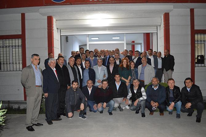 MHP samsun il başkanı karapıçak istanbulda dernelerin iftarına katıldı