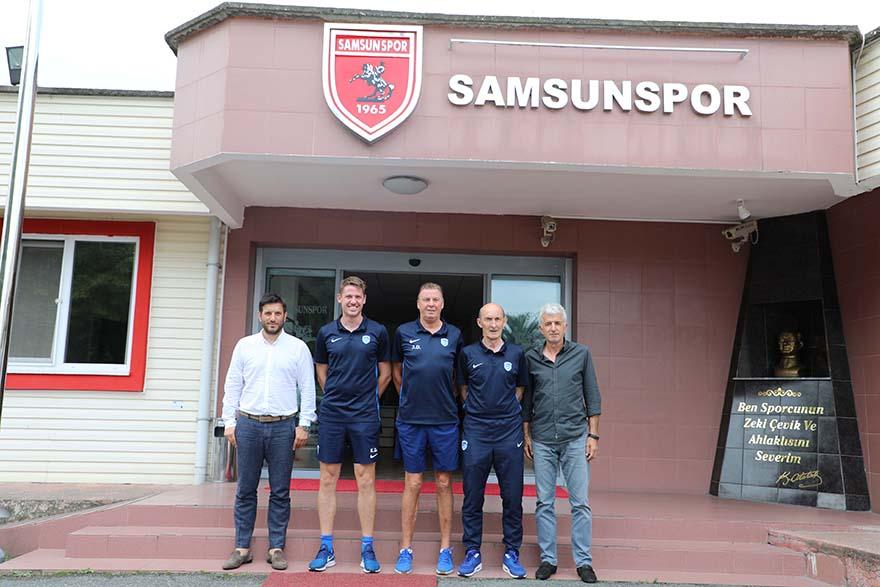 Samsunspor- Genk Akademisi ile işbirliği