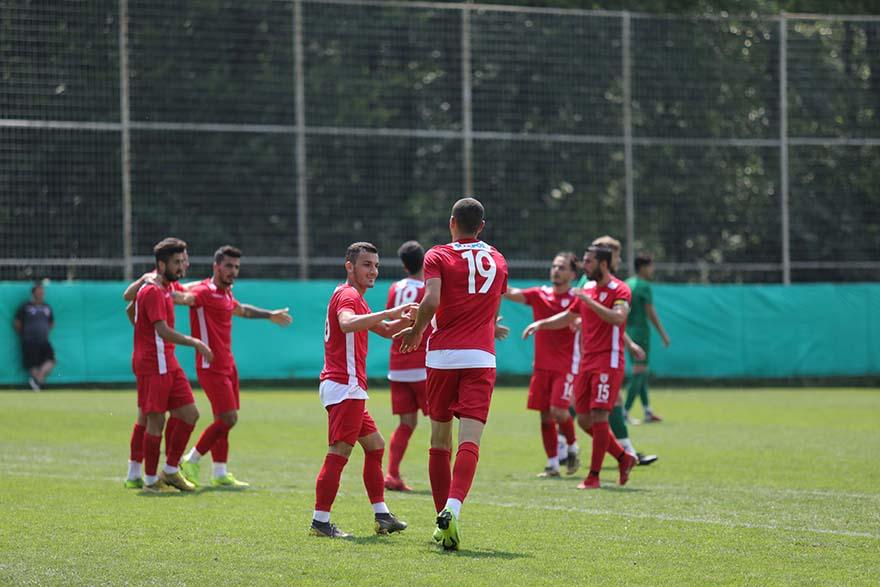 samsunspor hazırlık maçı Bayrampaşa Bafra55.nt