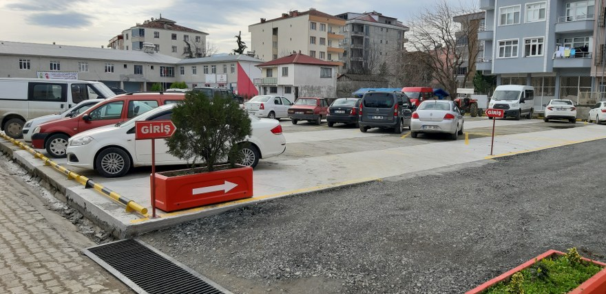 19 Mayıs Belediyesinden Yeni Otopark Alanları