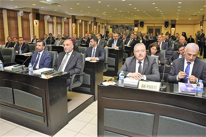 Mustafa Demir İlçe Başkanları Grup Toplantısı