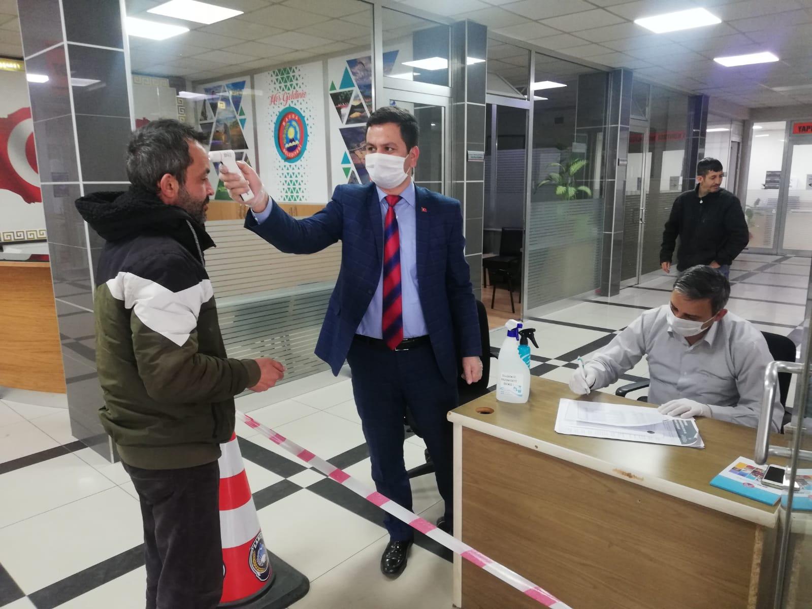 """Bafra Belediyesi'nden """"Önce Hijyen"""" Çalışması"""