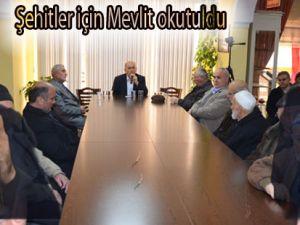 Bafra Şehit aileleri 58 mevlit programı2