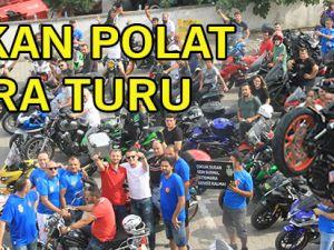 Bafra'da Birkan Polat'ın Motosiklet Gösterisi